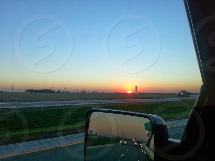 Indiana sunset photo