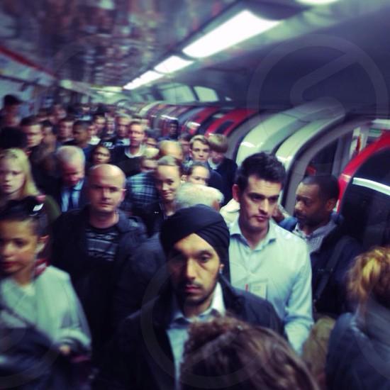 Tube Paddington UK  photo