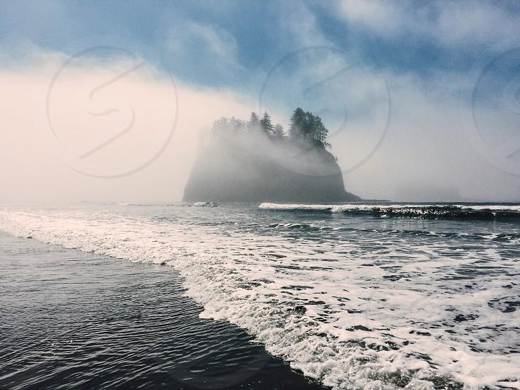 Second Beach Olympic National Park Washington photo