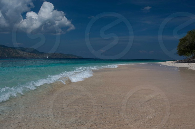 At the end of the world get lost in paradise! Gili Air Lombok Indonesia.  photo