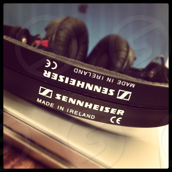 Sennheiser headphones photo