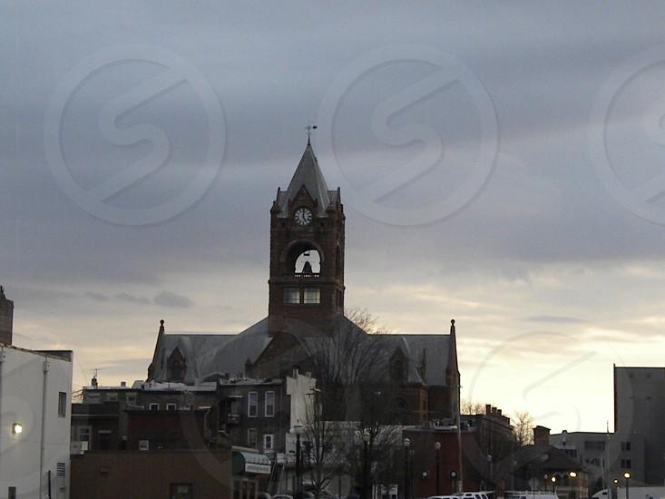 courthouse city townskyline photo