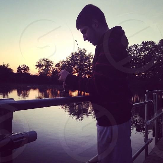Fishing on a Friday Night! photo