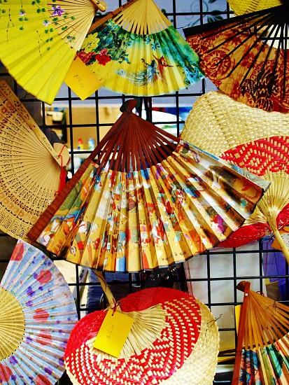decorative fans photo