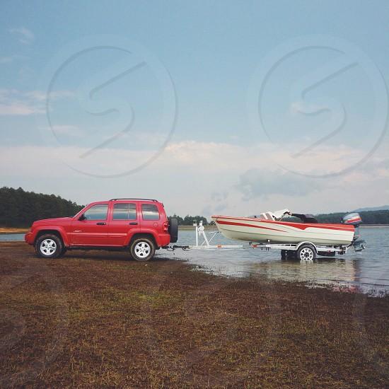 boat trailer photo
