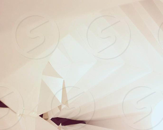 white textile photo