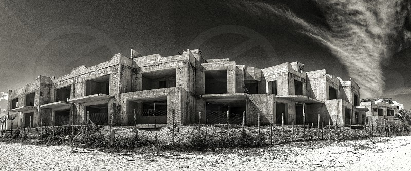 abandoned building  photo