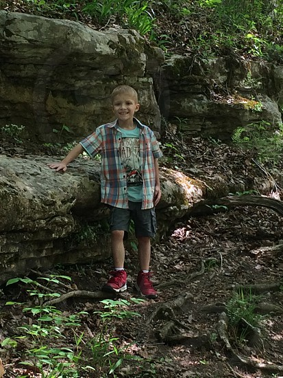 Photo of my son at Mammoth Cave National Park photo