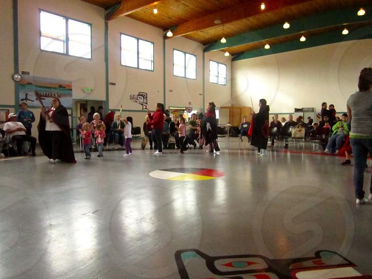 Quileute drum circle photo