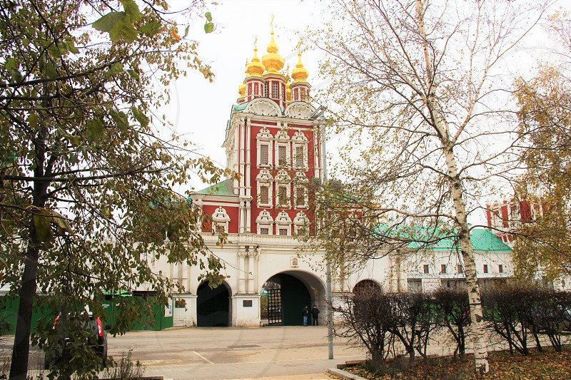 Novodevichy Convent. Moscow Russia. Autumn 2017 photo