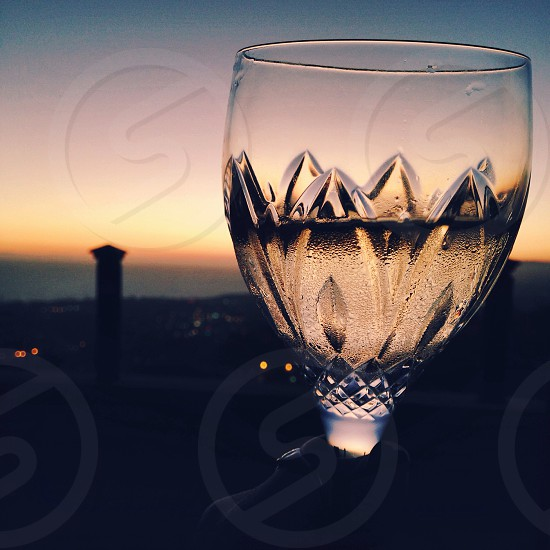 Summer wine in San Clemente CA  photo