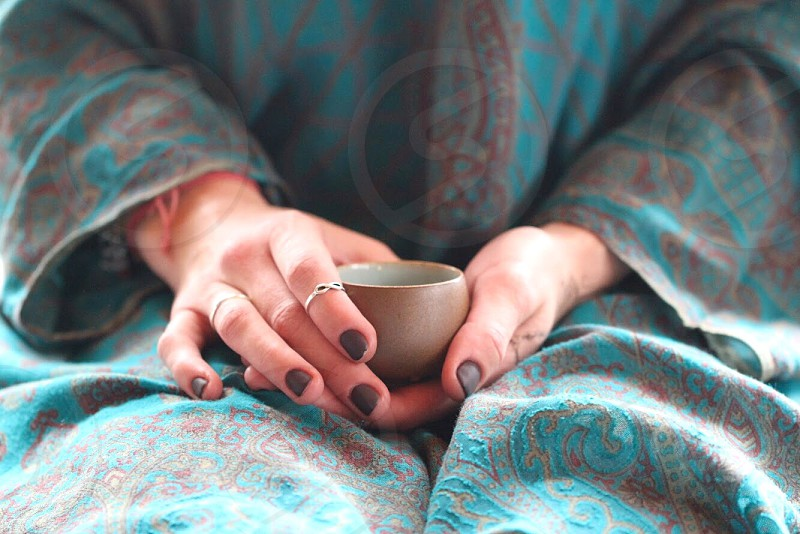 Relax relaxation tea ceremony hands  photo