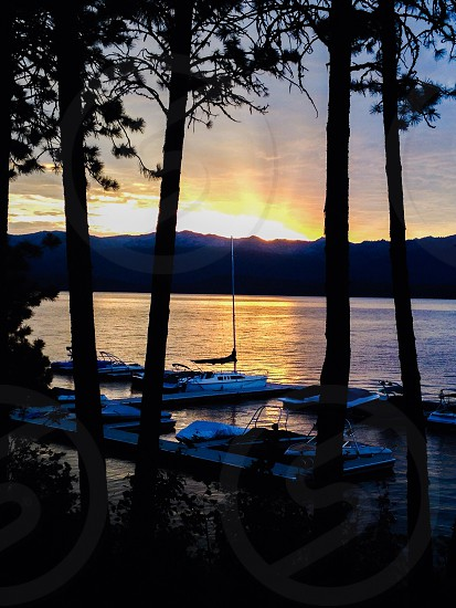 'Summer Sunrise' McCall Idaho photo