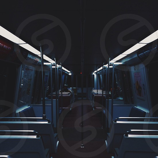 stainless steel train railing photo