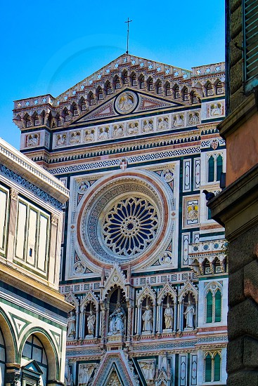 Rear gothic elements of Florence duomo Tuscany Italy  photo