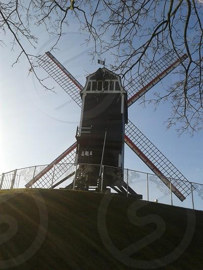 Bruges molen photo
