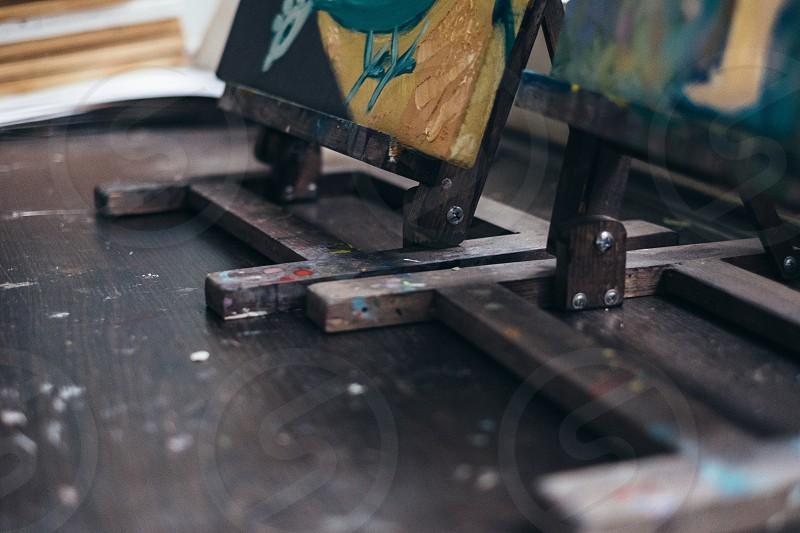 Art easels photo