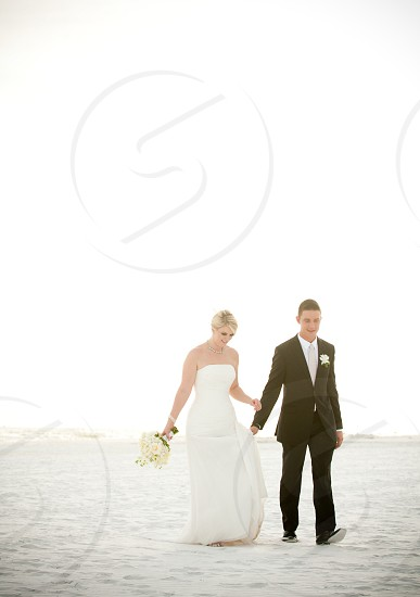 Wedding on Siesta Key Beach Florida photo