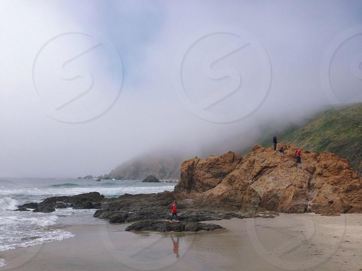 Pfeiffer Beach Big Sur photo