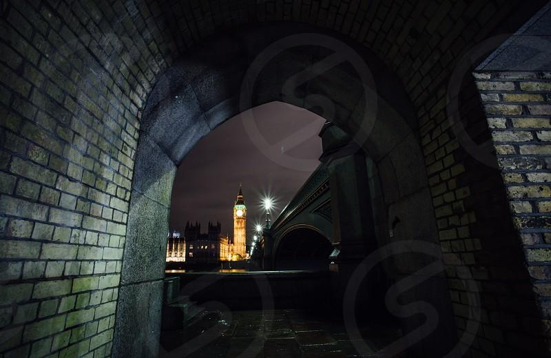 LondonlightstownriverbridgeThamesbuildingscityparliament photo