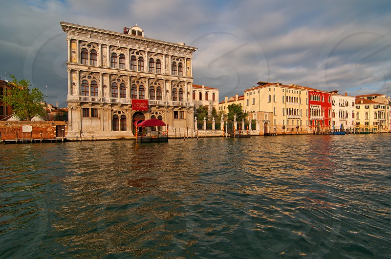 Venice Italy Casino view on grand canal photo