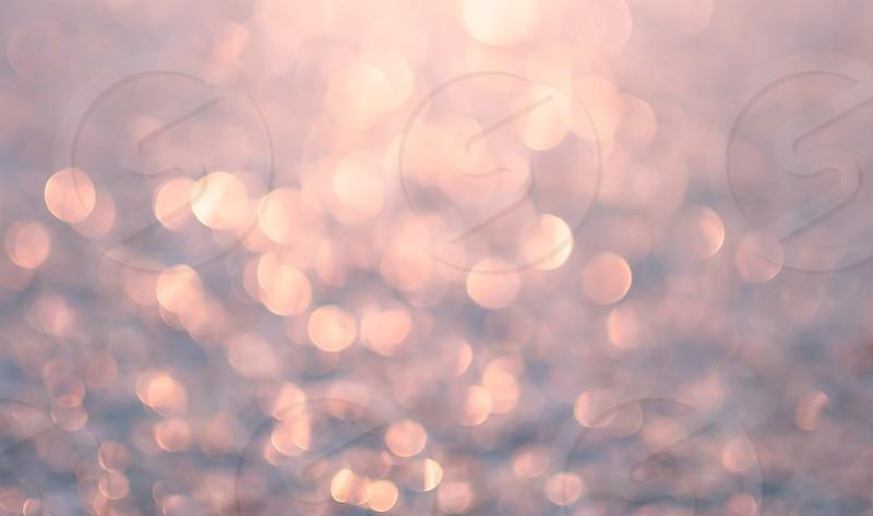 Pink sparkly light. glitter bokeh defocused pretty  photo