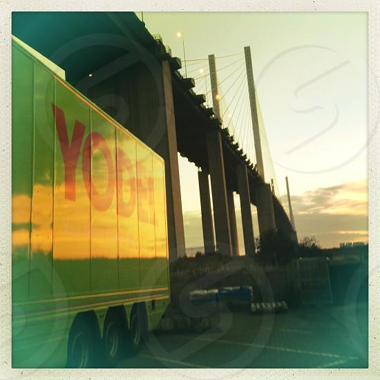 Yodel Lorry photo