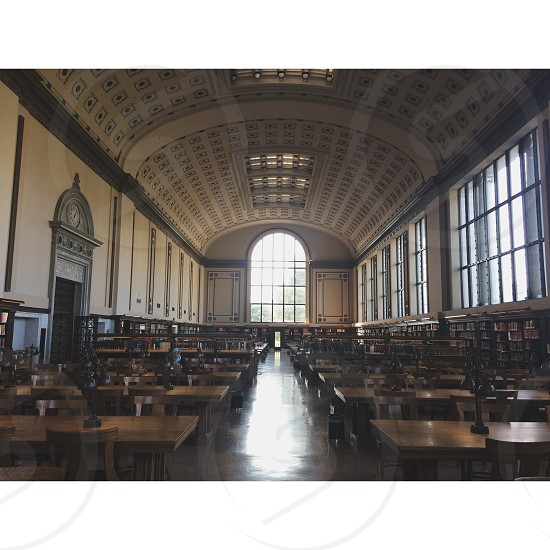 Doe Library at UC Berkeley. Architecture. photo