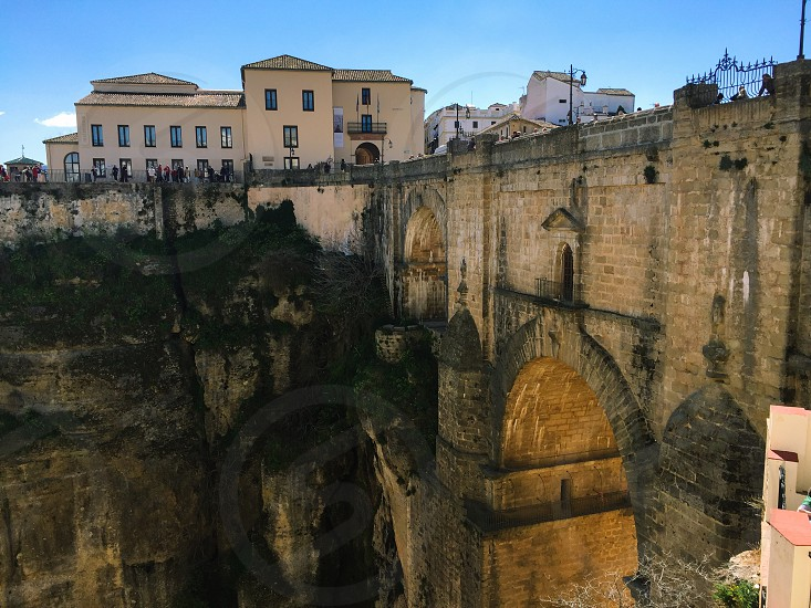 Ronda Spain new bridge photo