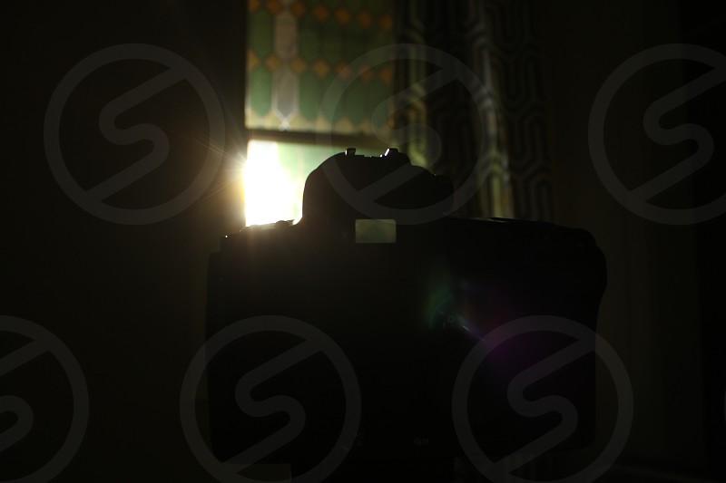 camera lens flare canon window photo photo