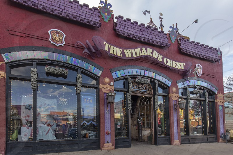 Storefronts in Denver Colorado photo
