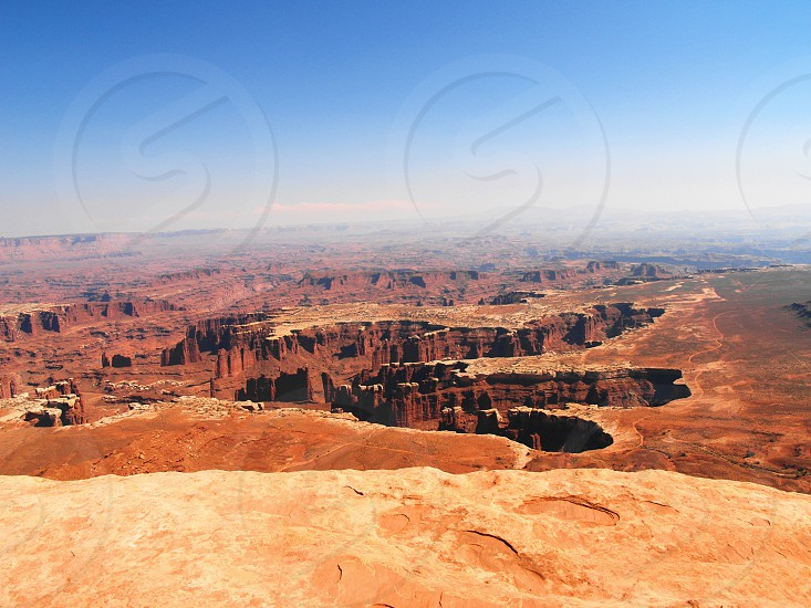 usa  utah canyonlands national park overlook photo