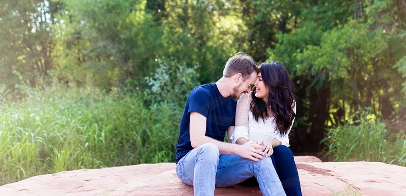 Sedona engagement session lifestyle photo