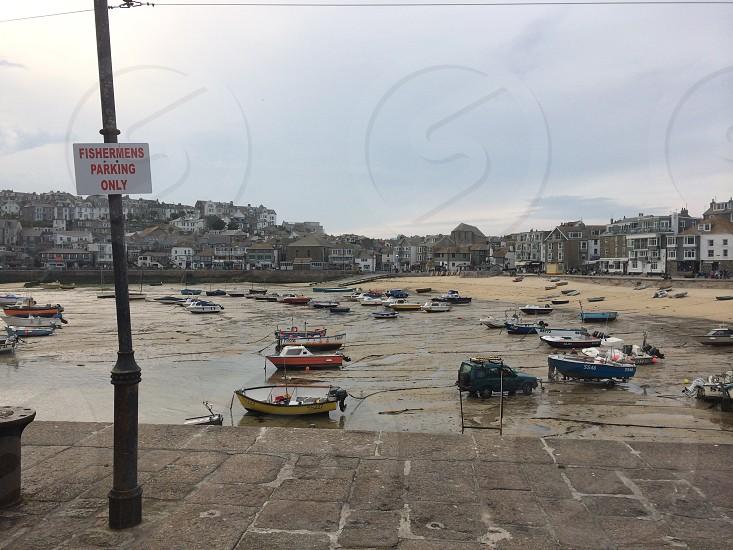 St Ives Harbour no parking photo