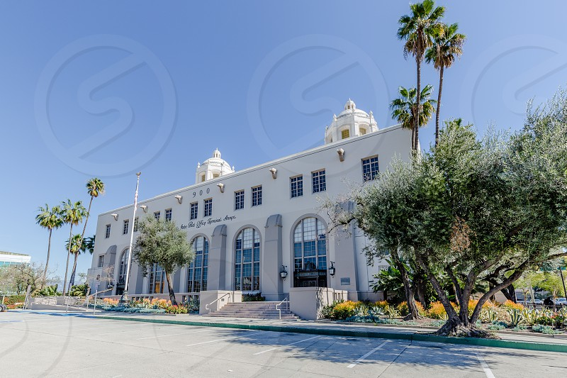 Post Office in Los Angeles California photo