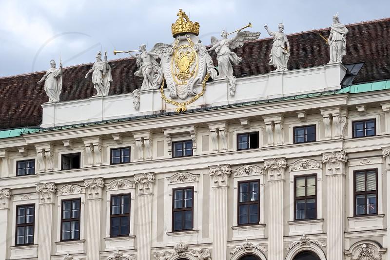 Hofburg at Heldenplatz in Vienna photo