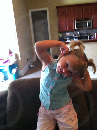 Chyanne being silly  photo