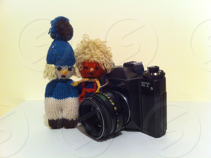 camera old toy classic lens photography retro handmade toy textile craft decorative vintage photo