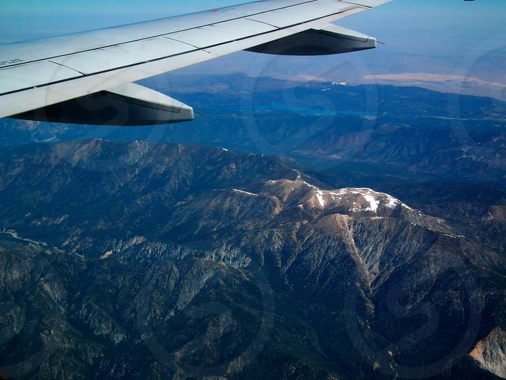 aerial mountain view  photo