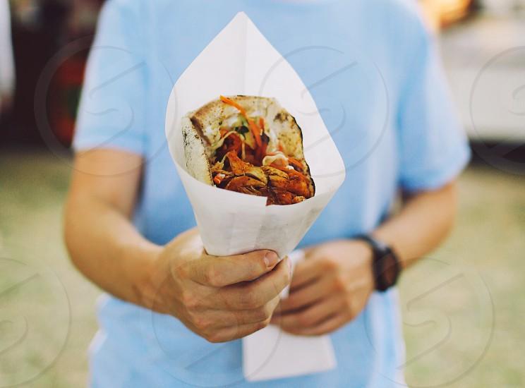 street food hands indian netherlands haarlem photo