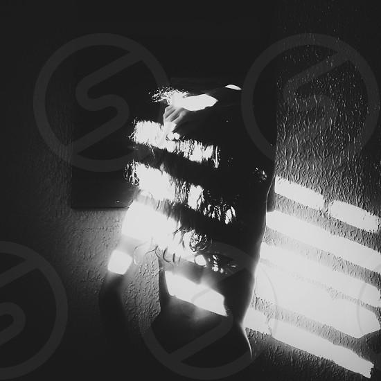 Light breaking through. photo