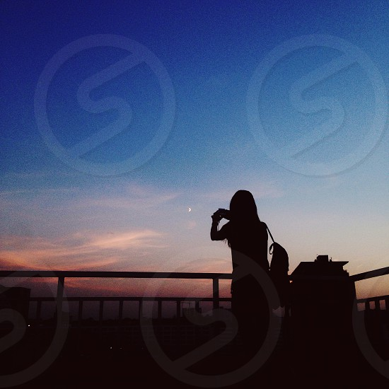 Capturing moments in the city photo