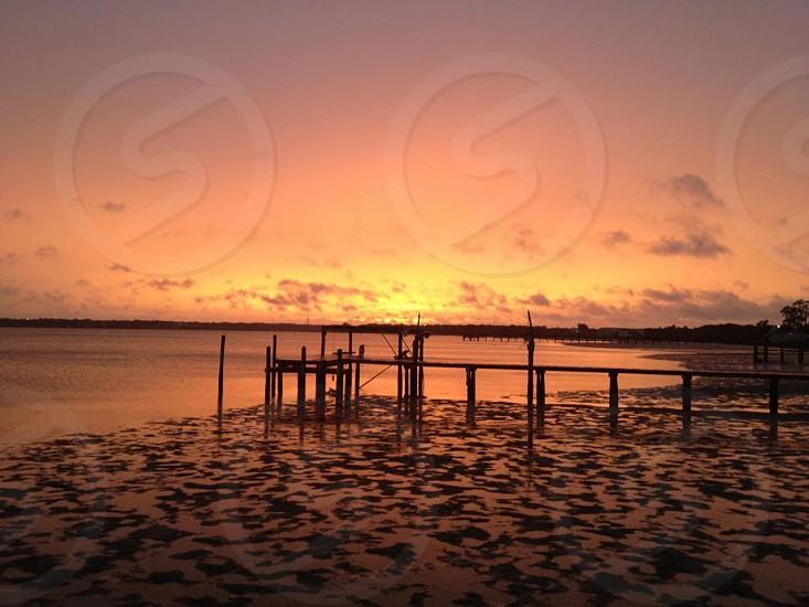Sunset at Oldsmar FL photo