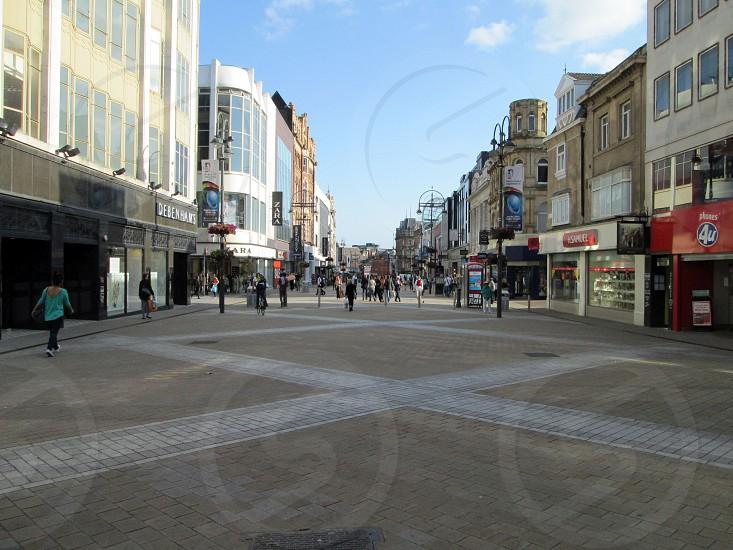 YORKSHIRE Leeds. Briggate.                                photo