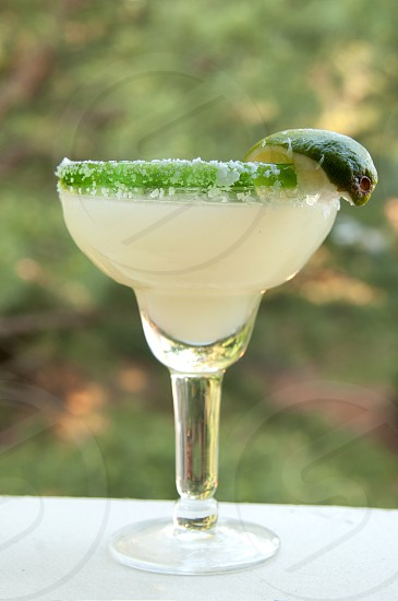 Outdoor summer margarita photo