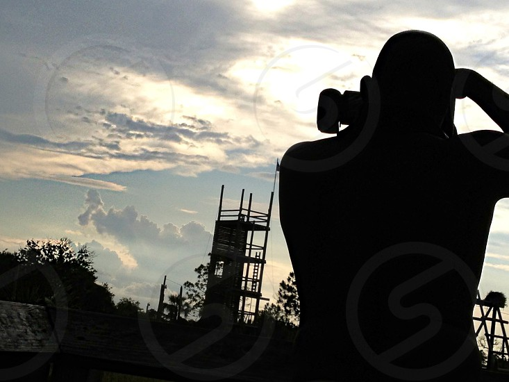 I took a this of my friend taking pix photo
