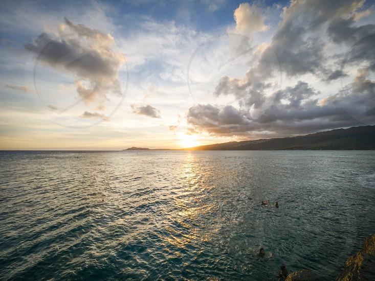 Sunset Hawaii  photo