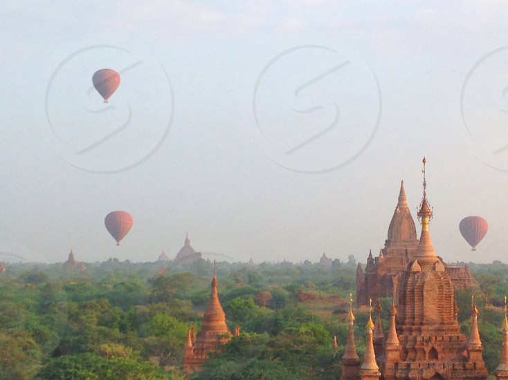 Hot air ballons  photo