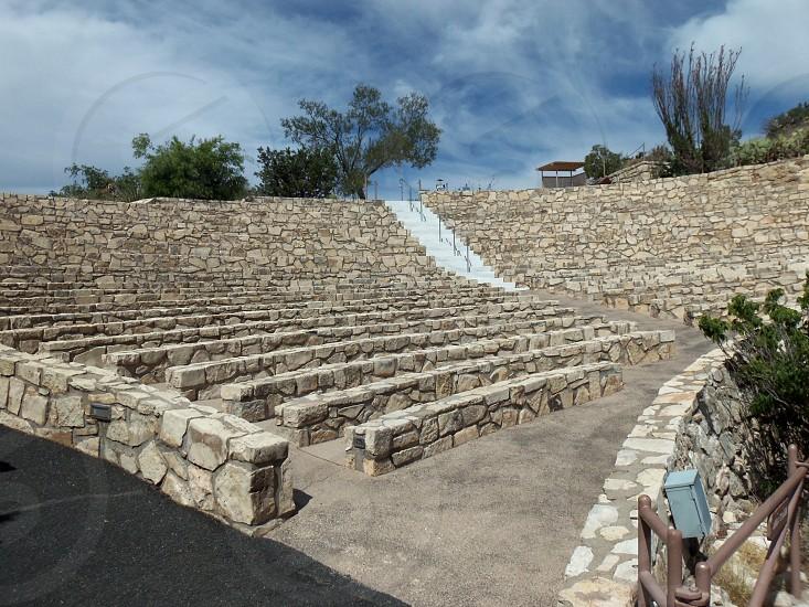 Amphitheater at Carlsbad Caverns NM photo