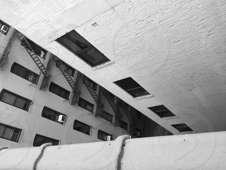 white concrete multi-storey building photo